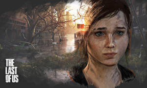 Обои The Last of Us Шатенка Взгляд Ellie Игры фото