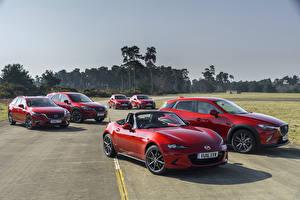 Фотография Mazda Красный Металлик машины