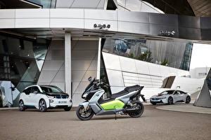 Обои BMW Автомобили Мотоциклы фото
