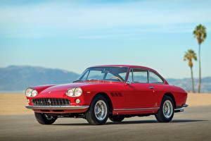 Обои Ferrari Ретро Красный 1965 330 GT 2 2 Interim Автомобили фото