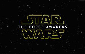 Обои Звёздные войны: Пробуждение Силы Слово - Надпись Фильмы фото