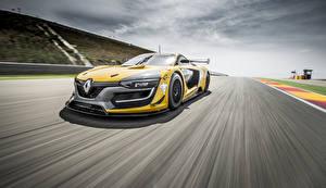 Обои Renault Движение 2014 RS 01