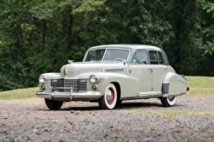 Обои Cadillac Ретро Металлик 1941 Fleetwood Sixty Special Sedan Автомобили фото
