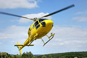 Обои Вертолеты Желтый