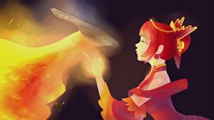 Фотография DOTA 2 Лина Магия Phoenix Феникс Игры