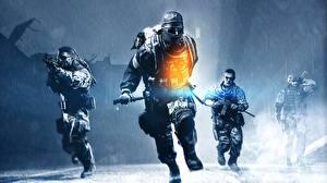 Картинка Battlefield 4 Солдаты Мужчины Бег