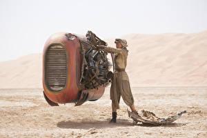 Фотография Техника Фэнтези Звёздные войны: Пробуждение Силы Дэйзи Ридли Кино Девушки