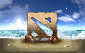 Фотография DOTA 2 Логотип эмблема Игры