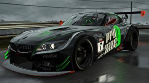 Фотографии BMW Черная Project CARS Игры Автомобили