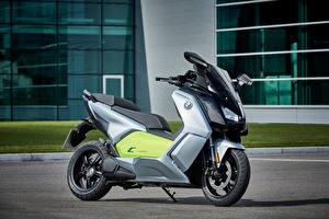 Обои BMW - Мотоциклы 2014-16 C evolution Мотоциклы фото