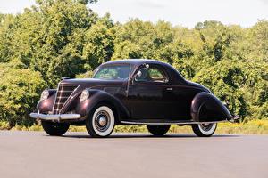 Картинка Lincoln Старинные Металлик 1937 Zephyr Coupe (HB-720) машина