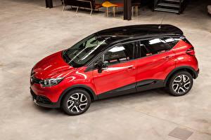 Фото Renault Красная Металлик 2016 Captur Hypnotic Автомобили
