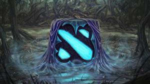 Картинка DOTA 2 Логотип эмблема Игры
