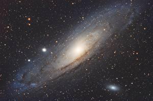 Обои Звезды M 31 NGC 224 Космос фото