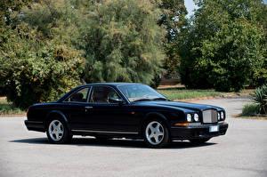 Фотографии Бентли Черных Металлик 1996-2002 Continental T Машины