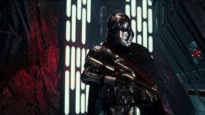 Картинка Звёздные войны: Пробуждение Силы Звездные войны Воители Шлем Captain Phasma Кино Фэнтези