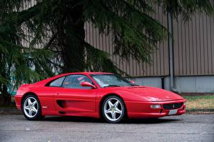 Обои Ferrari Красный 1994-99 F355 Berlinetta Worldwide Pininfarina Автомобили фото