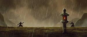 Картинка Дождь Самурай 2 Фантастика