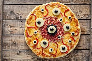 Фотографии Фастфуд Пицца Продукты питания