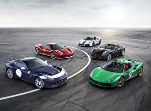 Обои Ferrari Автомобили фото