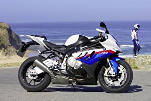 Картинка BMW - Мотоциклы Сбоку 2009-10 S 1000 RR Мотоциклы
