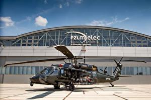 Обои Вертолеты S-70i BLACK HAWK Авиация