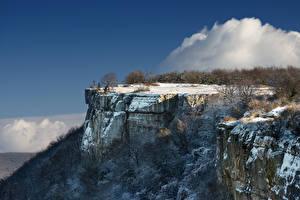Обои Крым Россия Скала Природа фото