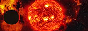 Обои Планеты Солнце Космос фото
