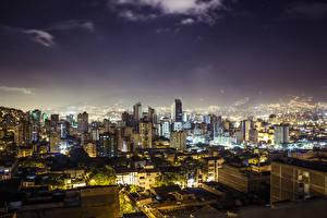 Картинки Дома Колумбия Medellin Города