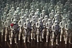Фотографии Звёздные войны: Пробуждение Силы Воители Солдат Клоны солдаты Stormtrooper кино