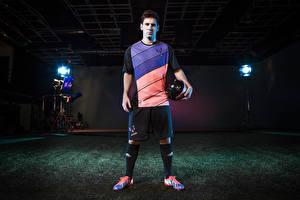 Фотографии Футбол Lionel Messi Мужчины Спорт