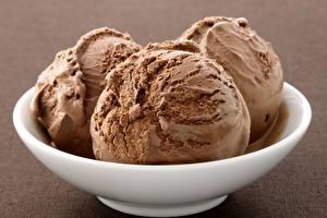 Обои Мороженое Шарики Еда фото