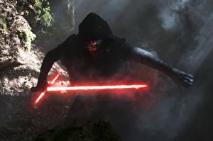 Обои Звездные войны Звёздные войны: Пробуждение Силы Мечи Kylo Ren Фильмы фото