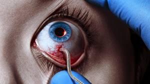 Обои Глаза Крупным планом Strain, 3 season Фильмы фото