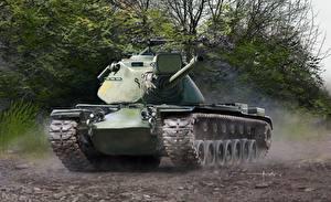 Обои Танки Рисованные M103A2 Heavy