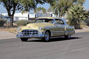 Обои Cadillac Ретро Металлик 1949 Sixty-Two Coupe de Ville Автомобили фото
