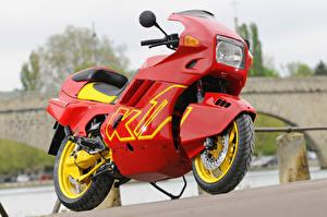 Обои BMW - Мотоциклы Красный 1988-93 K1 Мотоциклы фото