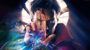 Фотография Доктор Стрэндж 2016 Камбербэтч Бенедикт Маг волшебник Мужчины Руки Лицо Кино Знаменитости