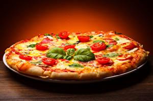 Обои Фастфуд Пицца Крупным планом Еда фото