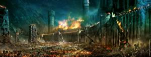 Крепость Война Властелин колец Фэнтези