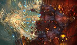 Heroes of the Storm Фантастический мир map Игры