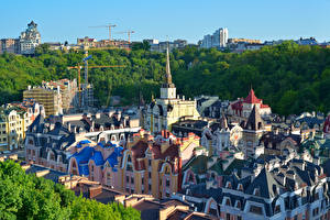Обои Украина Дома Киев Дизайн Города фото