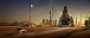 Техника Фэнтези Ender's Game Фильмы 3D_Графика