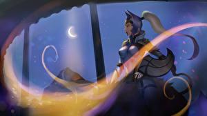 DOTA 2 Luna Воители Доспехи Шлем Игры