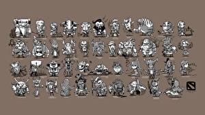 DOTA 2 Монстры Воители Игры
