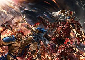 Битвы Воители Монстры Доспехи Gates of Azyr Игры