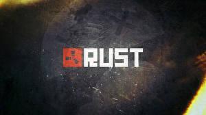 Картинки Логотип эмблема RUST Игры
