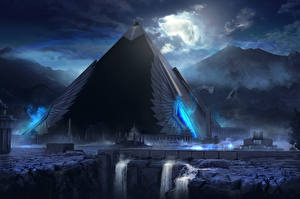 Фантастический мир Пирамида Фэнтези
