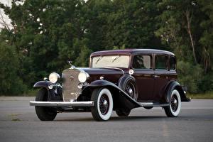 Обои Cadillac Ретро Металлик 1932 V16 452-B 5-passenger Sedan by Fleetwood Автомобили фото