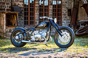 Фотографии БМВ Сбоку 2016 Motorrad R5 Homage Мотоциклы